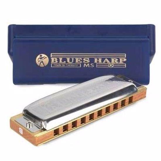 HOHNER USTNA HARMONIKA BLUES HARP D 532/20 M533036