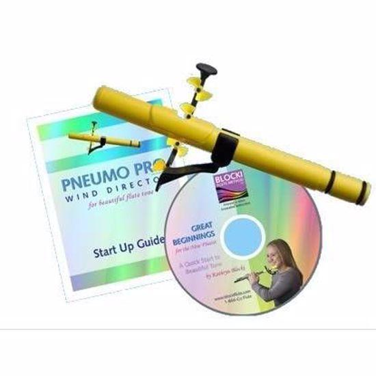 Naprava za vadbo dihanja Pneumo PRO + DVD