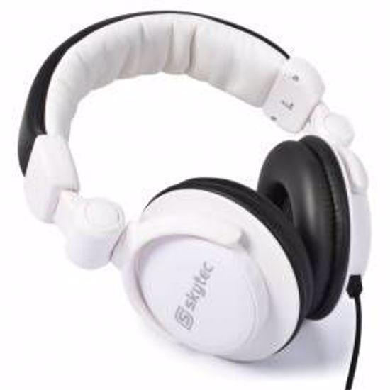 US BLASTER SLUŠALKE DJ USB7385 WHITE 100.862