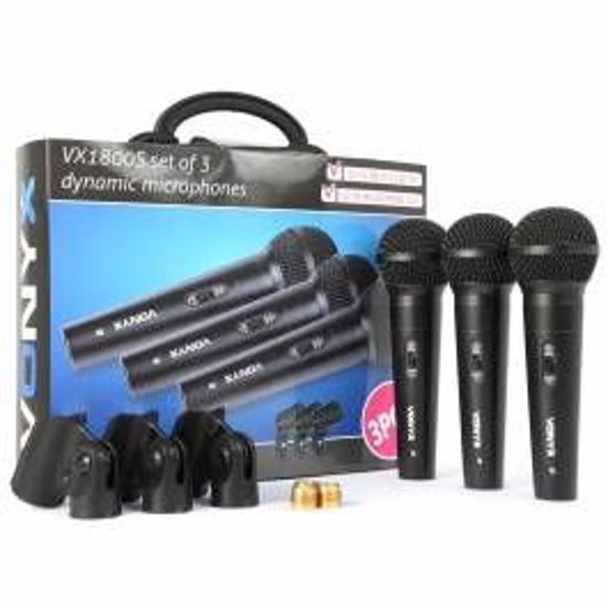 Vonyx VX1800S Dynamic Micro set 3pcs