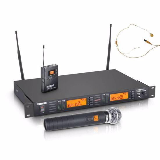 LD Systems WS 1000 G2 HBHH2 Ročni+naglavni daljinski mikrofon