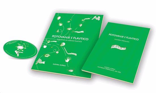 ZUPAN:POTOVANJE S FLAVTICO PRIROČNIK (FIFE)  ZA UČENCE FLAVTICE+CD