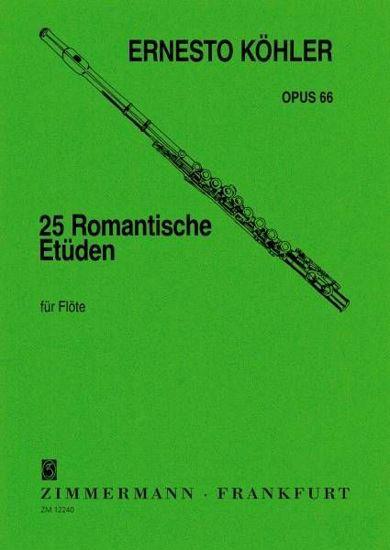 KOHLER:25 ROMANTISCHE ETUDEN OP.66