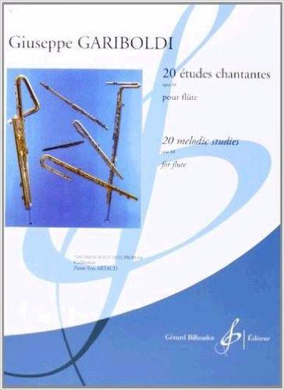 GARIBOLDI:20 ETUDES CHANTANTES OP.88