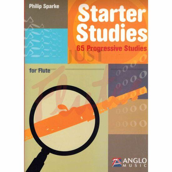 SPARKE:STARTER STUDIES 65 PROGRESSIVE FOR FLUTE