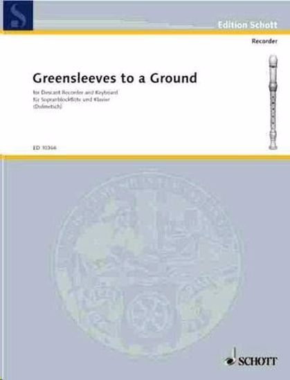 ANONYMUS:GREENSLEEVES TO A GROUND