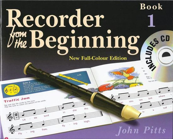 PITTS:RECORDER FROM THE BEGINNING 1 +CD