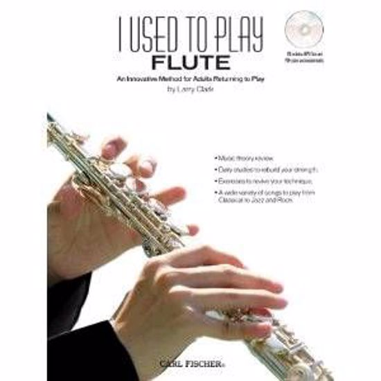 CLARK:I USED TO PLAY FLUTE +CD