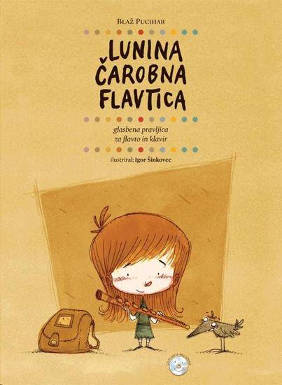 PUCIHAR:LUNINA ČAROBNA FLAVTICA+CD