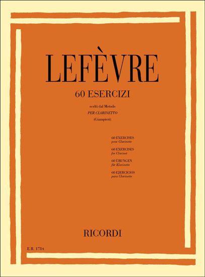 LEFEVRE:60 EXERCISES FOR CLARINET