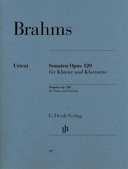 BRAHMS:CLARINET SONATAS OP.120