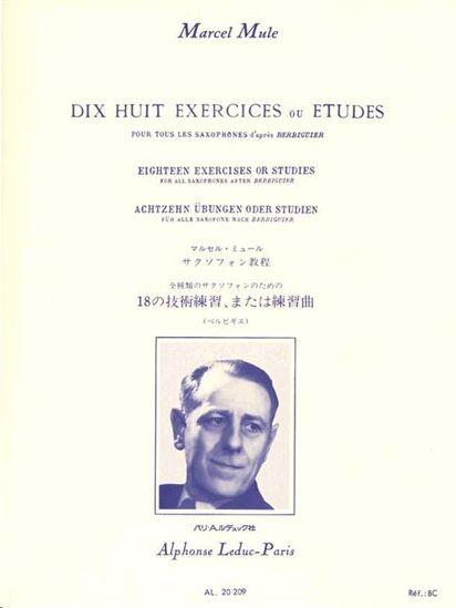 MULE M.:18 EXERCISES OR STUDIES BERBIGUE