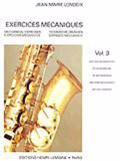 LONDEIX:EXERCICES MECANIQUES 3
