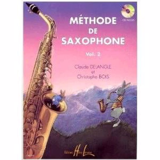 DELANGLE:METHODE DE SAXOPHONE VOL.2+CD
