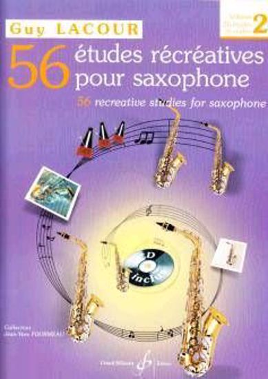 LACOUR:56 ETUDES RECREATIVES 2 +ON LINE AUDIO