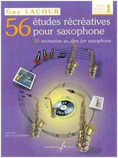 LACOUR:56 ETUDES RECREATIVES 1 +CD