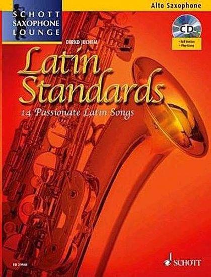 JUCHEM:LATIN STANDARDS ALTO SAXOPHONE +CD
