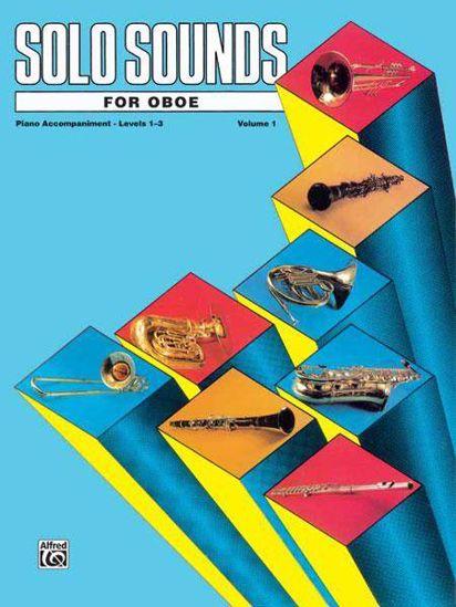 SOLO SOUNDS FOR OBOE 1-3 VOL.1 PIANO ACC.