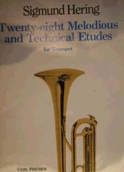 HERING:28 MELODIOUS AND TECHNICAL ETUDES FOR TRUMPET