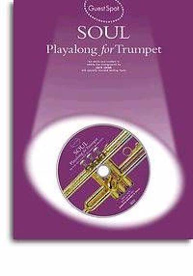 GUEST SPOT SOUL PLAYALONG+CD TRUMPET