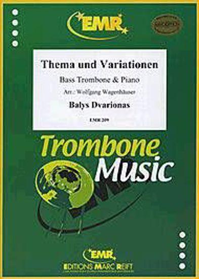 DVARIONAS:THEMA UND VARIATIONEN,BASS.TROMBONE+PI