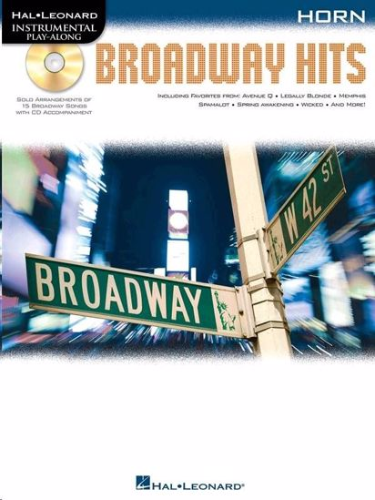 BROADWAY HITS PLAY ALONG HORN +CD