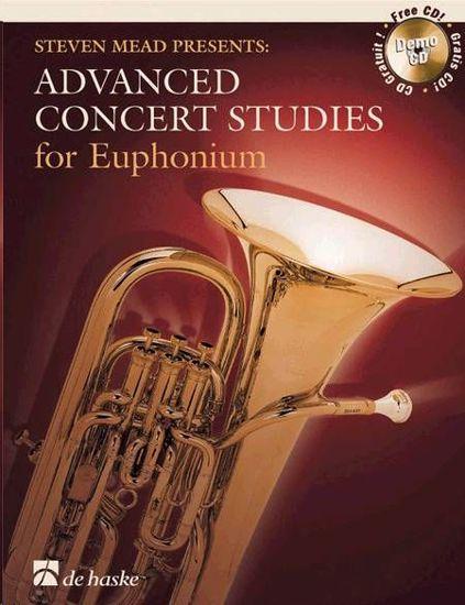 ADVANCED CONCERT STUDIES FOR EUPHONIUM +CD