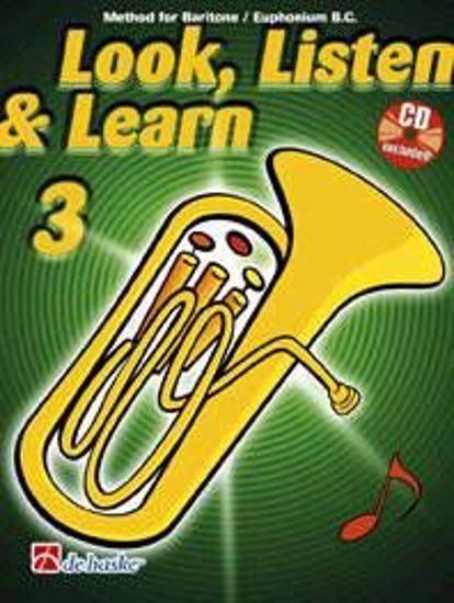 LOOK, LISTEN & LEARN 3 BARITONE/EUPHONIUM B.C.