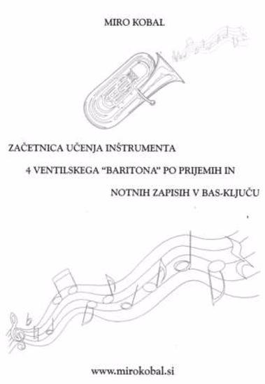 Kobal M.: Začetnica učenja Baritona