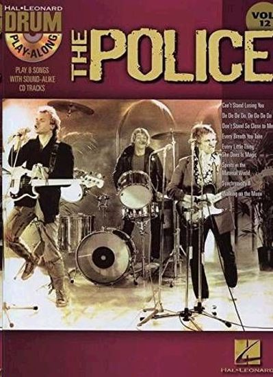 THE POLICE PLAY ALONG DRUM +CD VOL.12