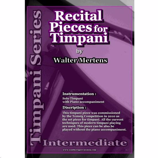 MERTENS:RECITAL PIECES FOR TIMPANI III