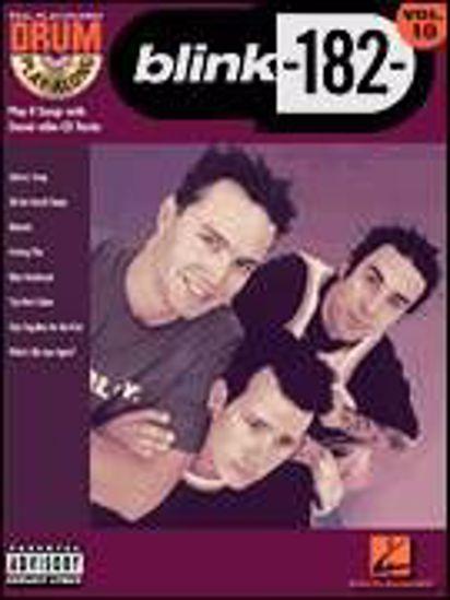 BLINK-182- DRUM PLAY ALONG+ CD VOL.10