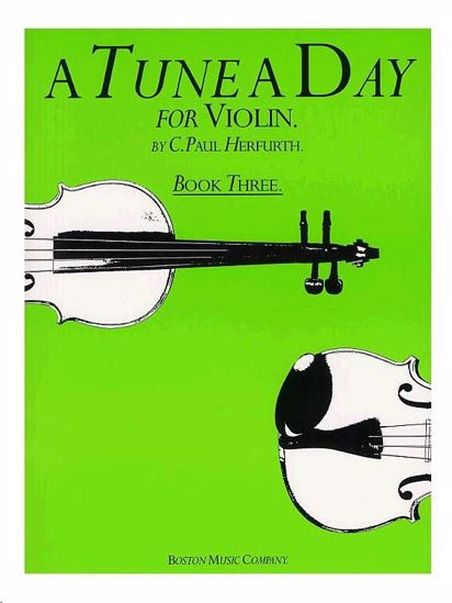 HERFURTH P.:A TUNE A DAY VIOLIN BOOK 3