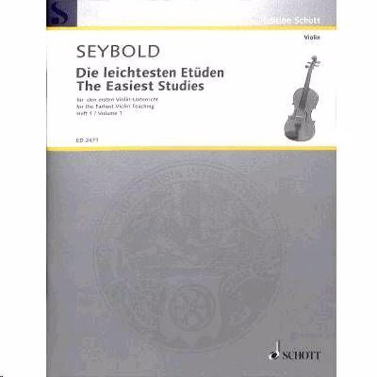 SEYBOLD:THE EASIEST STUDIES VOL.1 VIOLINE