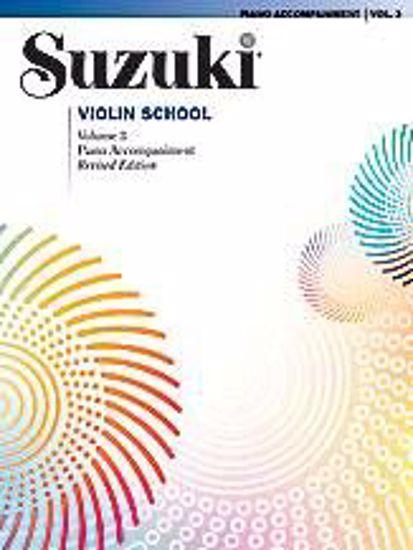 SUZUKI:VIOLIN SCHOOL 3 PIANO