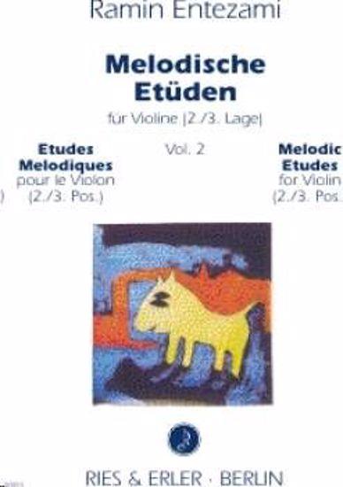 ENTEZAMI R:MELODISCHE ETUDE,VIOLINE.BK2