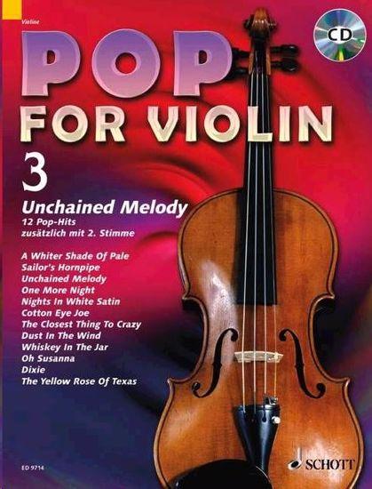 POP FOR VIOLIN 3 +CD