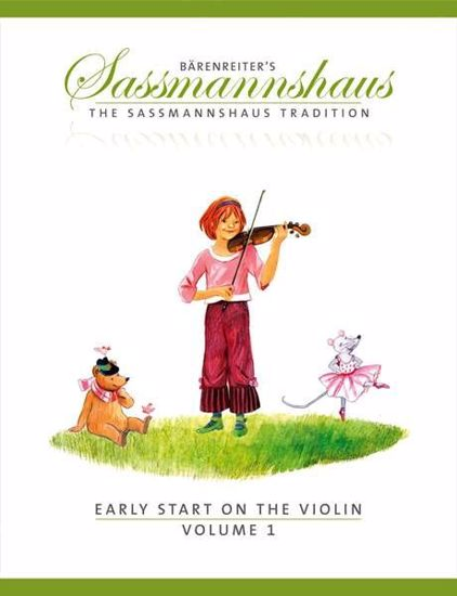 SASSMANNSHAUS:EARLY START ON THE VIOLIN VOL.1