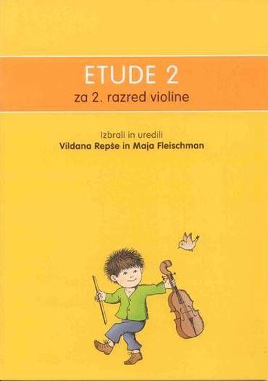 REPŠE,FLEISCHMAN:ETUDE 2 ZA 2.RAZ.VIOLINE