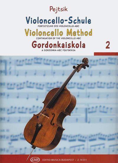 PEJTSIK:VIOLONCELLO METHOD 2