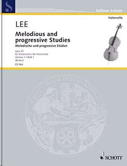 LEE:MELODIOUS AND PROGRESSIVE STUDIES OP.31/1