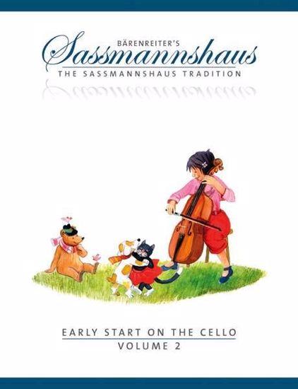 SASSMANNSHAUS:EARLY START ON THE CELLO VOL.2