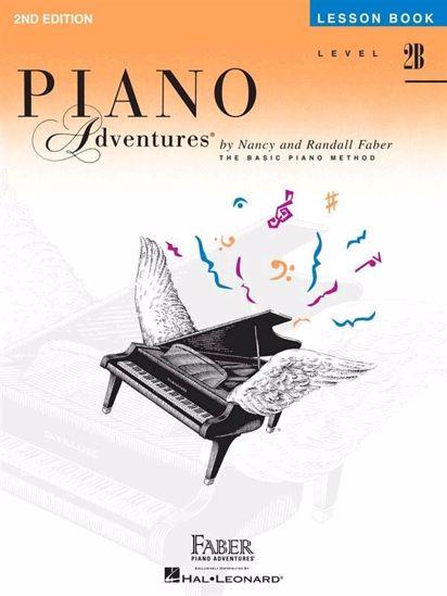 FABER:PIANO ADVENTURES LESSON BOOK 2B