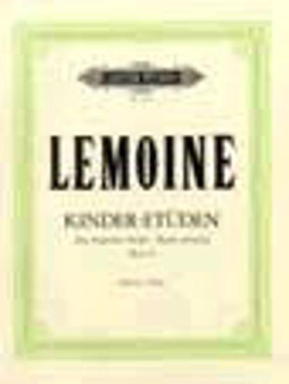 LEMOINE:KINDER-ETUDEN OP.37