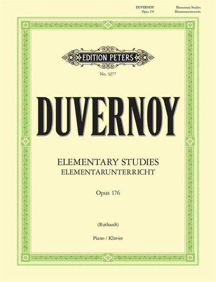 DUVERNOY:ELEMENTARUNTERRICHT OP.176/ELEMENTARY STUDIES