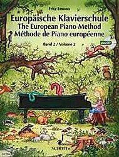 EMONTS:EUROPAISCHE KLAVIERSCHULE BAND 2 +CD