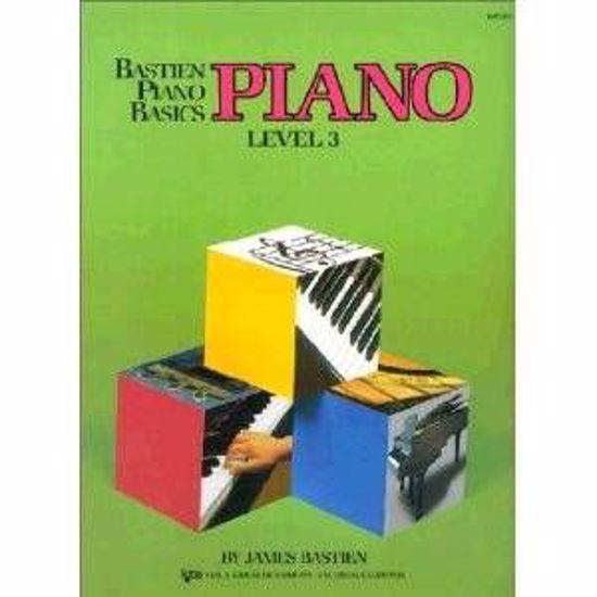 BASTIEN:PIANO LEVEL 3