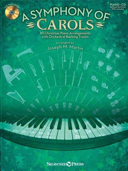 A SYMPHONY OF CAROLS (CHRISTMAS) PIANO +CD