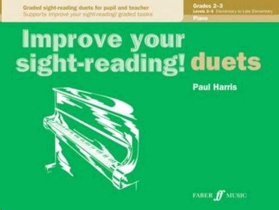 HARRIS:IMPROVE YOUR SIGHT-READING DUETS PIANO 2-3