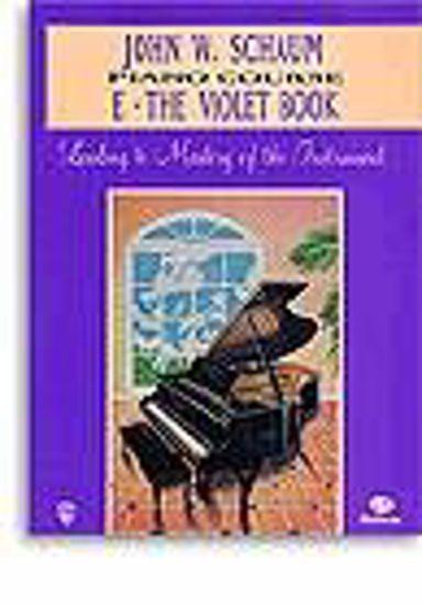 SCHAUM:PIANO COURSE E THE VIOLET BOOK